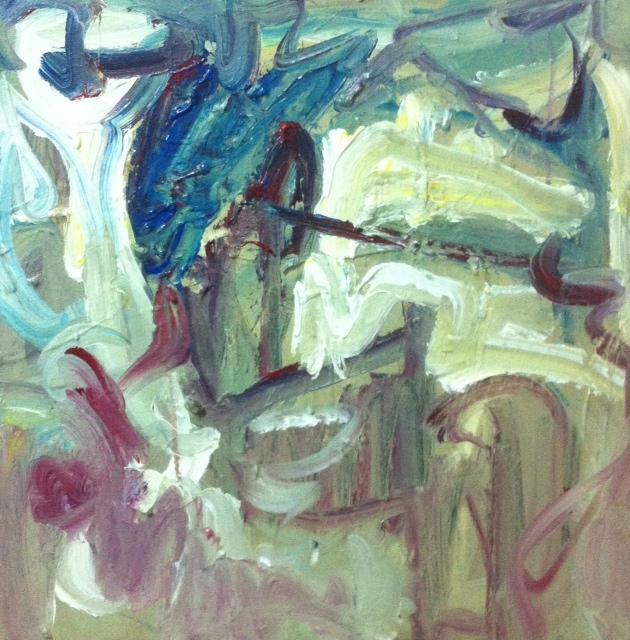 "Untitled acrylic on canvas 23x23 "" 2013"